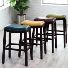 bar stools wood and leather blue leather bar stool wooden kitchen stools with counter height