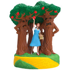 the wizard of oz a few bad apples sound ornament keepsake