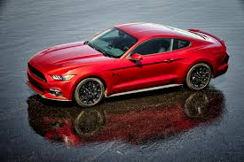 Red Mustang With Black Stripes 2016 Ford Mustang Gt Gets Hood Vent Turn Signals New Design Packages