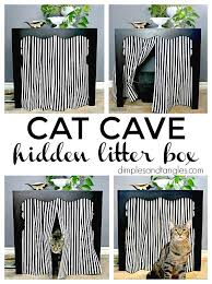 litter box side table side table to hidden litter box how to hide the litter box