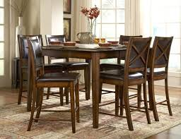 bar height dining table with leaf homelegance 727 36 verona counter height dining table set on sale
