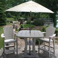Patio Bar With Umbrella Entertain In Style With Outdoor Bar Furniture Dfohome