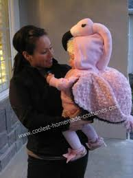 Coolest Baby Halloween Costumes Coolest Baby Flamingo Diy Costume Diy Costumes Flamingo