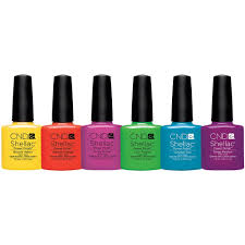 shellac paradise summer collection 2014 set of 6 colors 768995