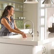 moen 7790srs arbor one handle high arc kitchen faucet with side