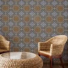 french garden damask lush wallpaper tiles designyourwall