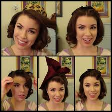 retro hairstyles for vintage hats youtube
