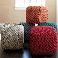 braided pouf ottoman my favorite finds poufs down time ahhh gray