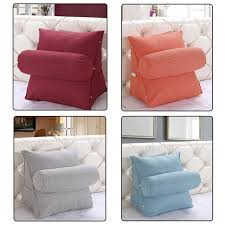 headrest pillow for bed comfortable soft pillow cushion washable sofa headrest pillows for