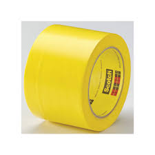 Floor Tape by 3m Marking Tape 3in W 108 Ft L Yellow 15f766 471 Grainger