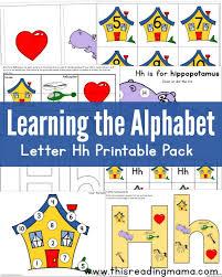 printable alphabet kindergarten free abc printable packs learning the alphabet