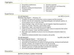 Aircraft Mechanic Resume Download Boeing Mechanical Engineer Sample Resume