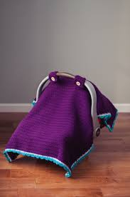 Free Baby Canopy by Car Seat Canopy Crochet Pattern