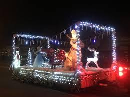 christmas light parade floats christmas light parade brightens kanab cedar city news