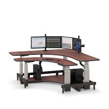 Adjustable Height Corner Desk Corner Standing Computer Desk Afcindustries Com