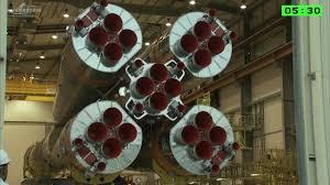 assembly highlights of soyuz rocket with hispasat 36 w1 youtube