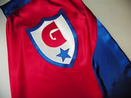 superhero cape kids boys girls personalized custom monogram