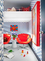 an energetic boy u0027s red bedroom hgtv