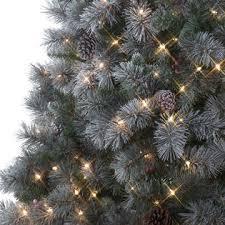 lightly flocked christmas tree d b 7 5 buchanan pine pre lit christmas tree sears
