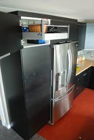 top of fridge storage blondemafia my favorite ikea hack