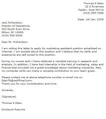 assistant director of financial aid cover letter financial aid