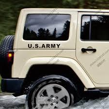 jeep wrangler stickers u s army us army military usmc car truck decal sticker vinyl die