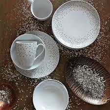 kamal snow dots bowls west elm