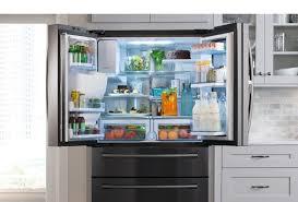refrigerators with glass doors samsung refrigerators counter depth french door u0026 more samsung us