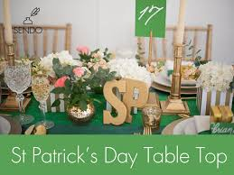s day table centerpieces st s day table top decor ideas the sendo