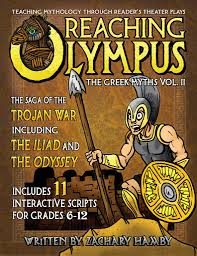 Greek Myths Worksheets Reaching Olympus The Saga Of The Trojan War And The Odyssey