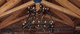 Antler Chandelier Shop Unique Antler Chandeliers In Northwest Montana