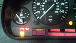 bmw instrument cluster failure due to an internal short in the