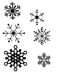 drawn snowflake printable pencil and in color drawn snowflake