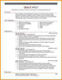 Software Resume Template 7 Resume Software Skills Bird Drawing Easy