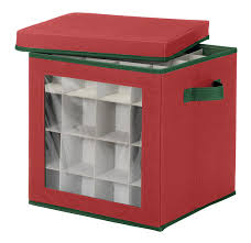 whitmor ornament storage cube 64 compartments home