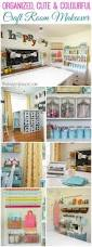 902 best crafts room ideas furniture images on pinterest an organized and adorable craft room makeover reveal with lots of thrifty craft storage ideas and pops of colour