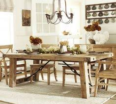 Waxed Pine Dining Table Benchwright Reclaimed Wood Fixed Dining Table Wax Pine Finish