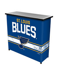 St Louis Patio Furniture by St Louis Blues Portable Bar With Case Stage Stores