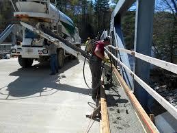 bridge deck completed western avenue bridge project