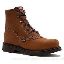 s boot newest canada jow s justin original 6 lace up work boot brown 7 d m us
