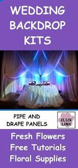 wedding backdrop kits wedding backdrops ideas party time backdrops