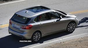 bmw 2 series active tourer completely undisguised image 217582