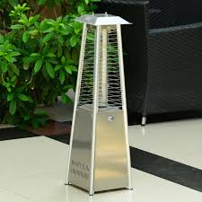 glass tube patio heater black friday 3kw deluxe patio pyramid heater table gas heating