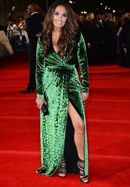 fashion faceoff kim kardashian versus tamara ecclestone in green