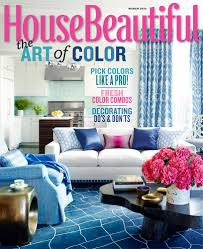 Housebeautiful Magazine by Color Your Winter