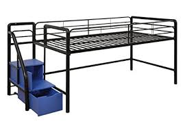 Steps For Bunk Bed Dhp Junior Metal Frame Loft Bed With Storage Steps
