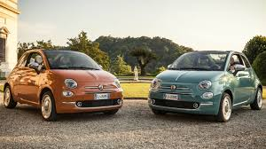 fiat 500 anniversario edition marks the 60th anniversary of the