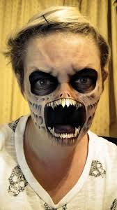 Easy Halloween Makeup For Men by The Painting Lady U2013 Les Horribles Maquillages D U0027halloween De Nikki