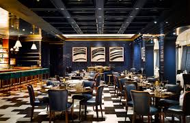 dining room restaurant carbone restaurant brings swanky italian style to aria las