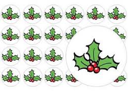 24 precut transformers edible wafer paper cake toppers decorations 24 x christmas leaf pre cut fairy cup cake toppers